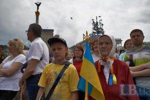 Порошенко не пришел на вече на Майдане