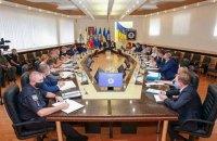 У МВС провели засідання координаційного штабу з місцевих виборів