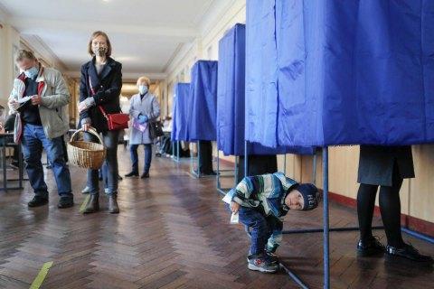 "Явка избирателей на 20:00 составила 23,9%, - ""ОПОРА"""