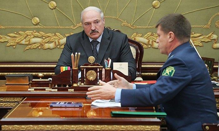 Встреча Александра Лукашенка с Председателем Государственного таможенного комитета Юрием Сенько