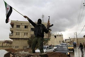 Исламисты захватили военную базу в Сирии