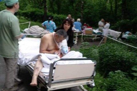 """У Києві """"мінували"""" міську клінічну лікарню"""