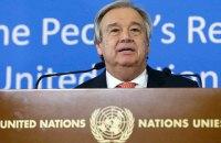 Генсек ООН призвал прекратить огонь в Сирии