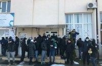 Акция против Козака и Медведчука во Львове переросла в схватку с полицией