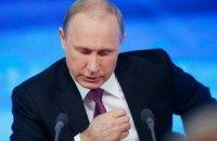 Путін звинуватив Україну у недотриманні Мінських угод
