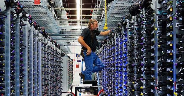 Центр обработки данных Google
