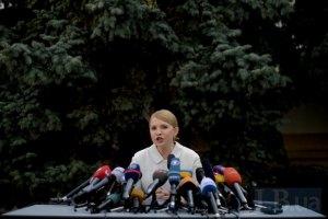 Тимошенко требует немедленно отменить запрет на въезд в Крым для Джемилева