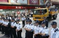 В Гонконге демонстранты прошли маршем к дому главы правительства