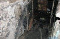 В подвале жилого дома в Киеве сгорел человек