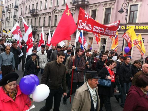 Левая колонна Марша миллионов в Москве