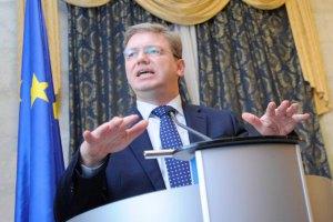 Фюле: ЕС готов возобновить подготовку к СА, как только у Украины появится желание