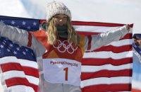 Американська сноубордистка Хлоя Кім стала олімпійською чемпіонкою в хафпайпі