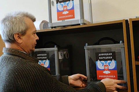 ЕСввел санкции завыборы вДонбассе