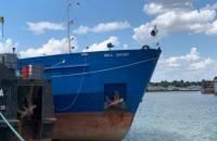 Украина задержала российский танкер, который блокировал проход украинским катерам в Керченском проливе