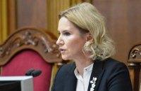 Віцеспікер Кондратюк звернулася до польських колег з приводу Мазура