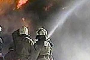 В Запорожской области горела нефтебаза