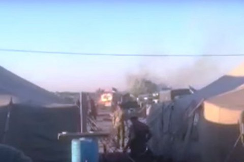 Трое военных ранены из-за взрыва танка в Днепропетровской области