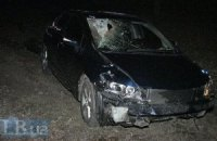 Honda насмерть збила чоловіка на київській Кільцевій дорозі