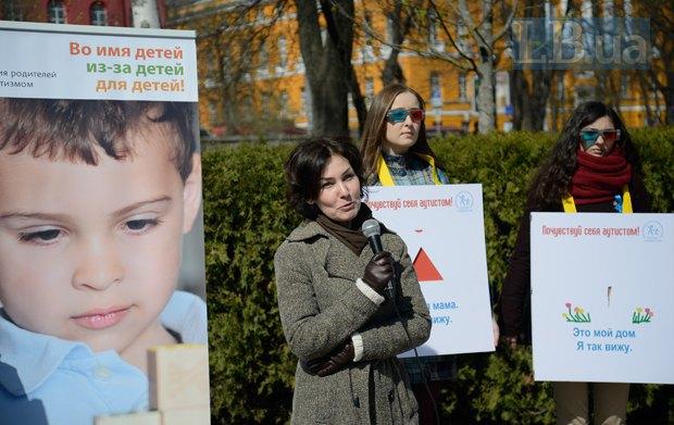 Елена Паничевская, глава Ассоциации родителей детей с аутизмом