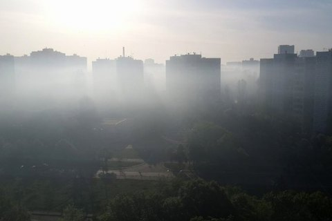 Гидрометцентр назвал уровень загрязнения воздуха в Украине обычным для осени