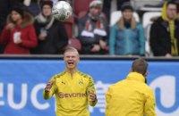 """Холанд сделал хет-трик всего за 23 минуты в своем дебютном матче за """"Боруссию"""" в Бундеслиге"""