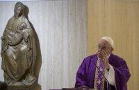 """Папа Римский назвал спровоцированный коронавирусом кризис """"ответом природы"""" на действия человека"""