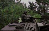 Артилерія ЗСУ проводить навчання зі стрільбами на полігоні в Чернігівській області