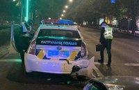 У Києві сталася аварія за участю автомобіля поліції
