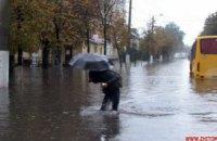 Ливень в Житомире: потоп парализовал город