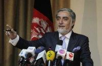 Опозиціонер лідирує на виборах президента Афганістану