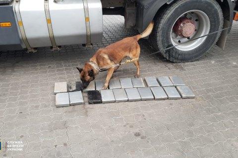 СБУ запобігла контрабанді 20 кілограмів кокаїну з Південної Америки