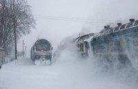 В Черкасской области горел вагон дизель-поезда