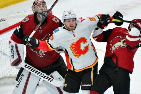 У матчі НХЛ сталася масова бійка за участю воротарів і хокеїста з українським корінням