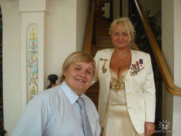Ольга Сергеєва та її син Юрій. Фото Однокласники.ru