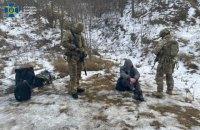 У Чернівецькій, Харківській і Сумській областях СБУ затримала ділків, які переправляли нелегалів через кордон