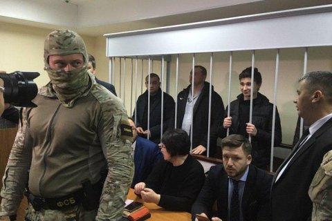 Российский суд продлил арест всем пленным украинским морякам на три месяца
