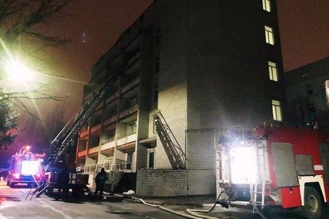 У Запоріжжі звільнили керівника лікарні, де в пожежі загинули чотири людини