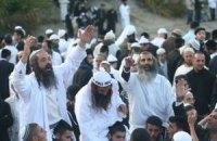 В Умань приехало рекордное число хасидов
