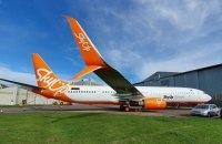Літак SkyUp після евакуації громадян з Китаю вже виконав рейси в Єгипет і зі Львова до Києва