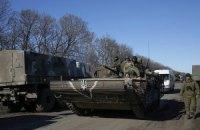 Штаб АТО заявив про створення умов для відведення важкого озброєння