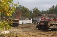 ГосЧС объявила о ликвидации пожара на арсенале возле Ични
