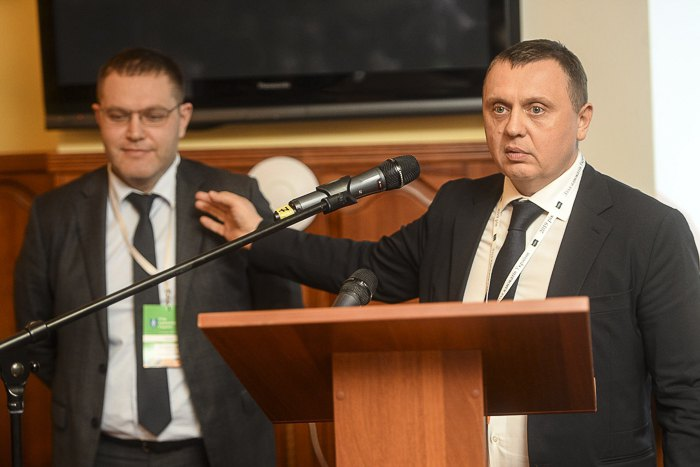 Олексій Маловацький та Павло Гречківський на з'їзді адвокатів