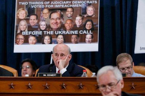 Палата представників Конгресу США оголосила Трампу імпічмент