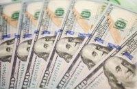 Міжнародні резерви України у жовтні зменшилися на $400 млн