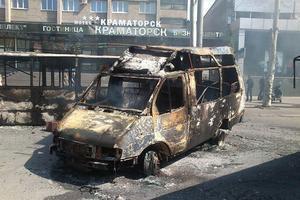 Штаб АТО: боевики обстреливают из минометов жилые районы Краматорска