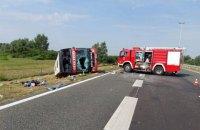 У Хорватії перекинувся пасажирський автобус, є 10 загиблих і щонайменше 44 постраждалих