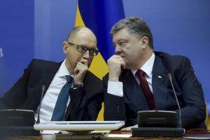 Порошенко і Яценюк ввечері зберуть голів фракцій Ради