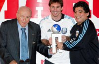 Мессі в матчі Ла Ліги присвятив гол Марадоні, за що отримав жовту картку