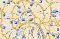У Москві запустили інтернет-карту паркувальних місць