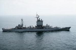 """Американский крейсер """"Велла Галф"""" вошел в Черное море"""